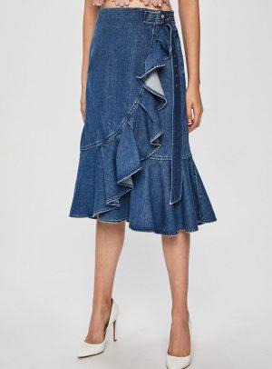 Miss Sixty - Fusta midi jeans