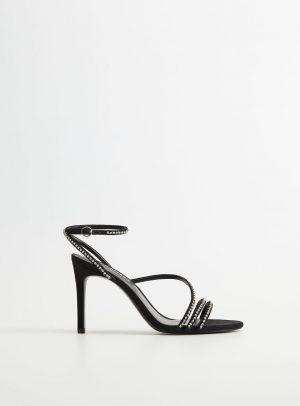 Mango - Sandale dama de piele Lyra