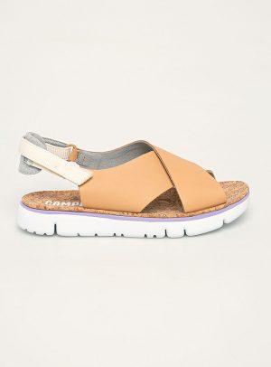 Camper - Sandale dama de piele Oruga Sandal