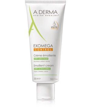 A-Derma Exomega Crema corp cu efect de emoliere pentru piele foarte sensibila sau cu dermatita atopica