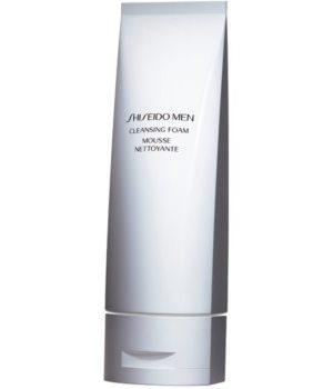 Shiseido Men Cleansing Foam demachiant spumant delicat pentru toate tipurile de ten
