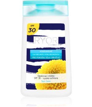 RYOR Sun Care lapte de corp pentru soare rezistent la apa SPF 30