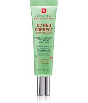 Erborian CC Red Correct crema CC impotriva rosetii tenului SPF 25