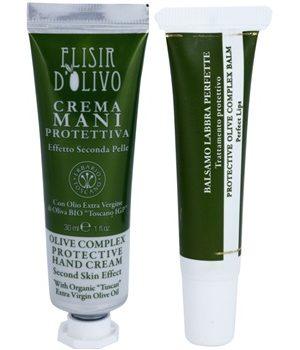Erbario Toscano Elisir D'Olivo set de cosmetice I. pentru femei