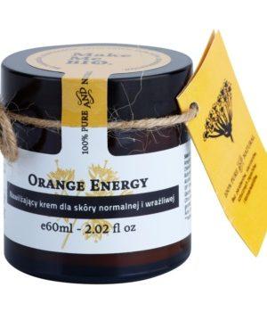 Make Me BIO Face Care Orange Energy crema hidratanta pentru ten normal catre piele sensibila